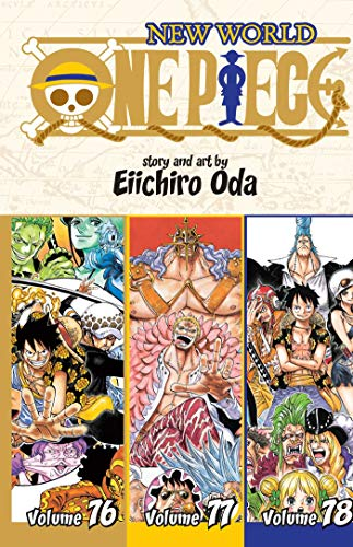 One Piece 76, 77, 78: New World; Shonen Jump Manga Omnibus Edition: Includes vols. 76, 77 & 78: 26