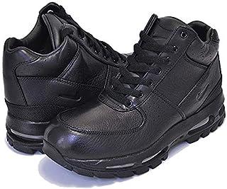 [ナイキ] エアマックス ゴアドーム GS AIR MAX GOADOME(GS) black/black-metallic silver ACG レディース ガールズ サイズ スニーカー ブラック [並行輸入品]