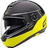 SCHUBERTH C4 PRO Swipe Giallo Modulare Casco per Moto Taglia L
