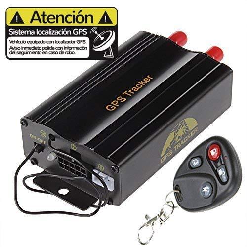Localizador GPS para coche sin cuotas TK103A Requiere instalación eléctrica. Tracker coche....