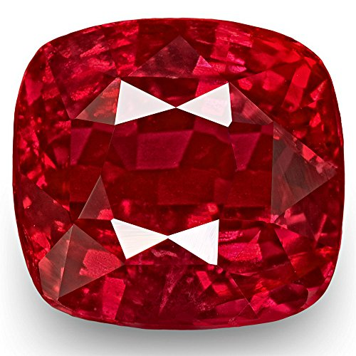 3.59-Carat Natural Ruby - 100% Unheated & Untreated, Mined in Mozambique, Certified by GRS, Premium Loose Gemstone