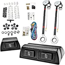 Biltek 2x Car Window Automatic Power Kit Electric Roll Up For Chevy Monza Nova Optra Orlando Prizm R10 Silverado