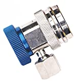 Robinair 18190A R-134a Low Side Service Coupler with Blue Actuator