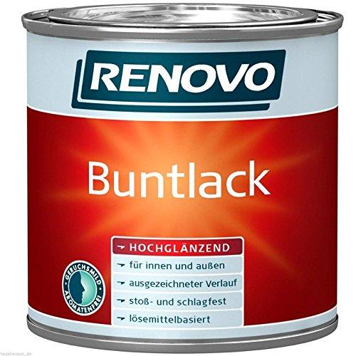 750 ml RENOVO Buntlack hochglänzend WEISS lmh