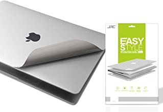 Premium 5 in 1 Full Size 3M Decals Skins Covers for MacBook Pro 13 Inch With Touch Bar (Apple Model Number A1706/A1989/A2159), with High Clear Screen Protector--Silver