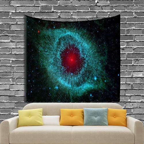 WERT Tapiz de constelación, Tapiz de Planeta Espacial, Tapiz de Galaxia del Universo, Tapiz psicodélico, Mandala, Tela de Fondo A7 73x95cm