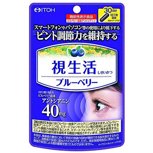 【2個セット】井藤漢方製薬 視生活ブルーベリー 30日分×2個