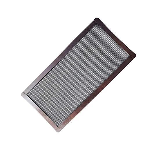 Matedepreso Filtre à Poussière Anti-poussières Protectrice Ventilateur PC Étui Remplacement Ordinateur Mesh Magnétique - Noir, Free Size