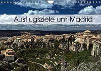 Ausflugziele um Madrid (Wandkalender 2022 DIN A4 quer): Meine Impressionen aus der Umgebung von Madrid (Monatskalender, 14 Seiten )