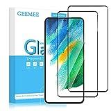 Protezione: Protezione del display resistente ai graffi può proteggere efficacemente Samsung Galaxy S21 FE da graffi o altri graffi causati da sostanze dure. Durezza 9H: Adottato vetro rinforzato, vanta circa il doppio della durata rispetto al comune...