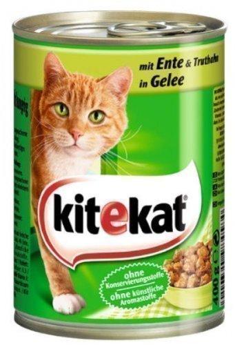 Mars Deutschland Kitekat Katzenfutter Dosen Mix 12er Pack (12 x 400g)