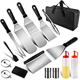 WLDQ Grill Spatula Grill Cutlery Set, Professional Bbq <span class='highlight'>Tool</span> Set Grill Spatula Idea for Outdoor Grilling, Teppanyaki and Camping
