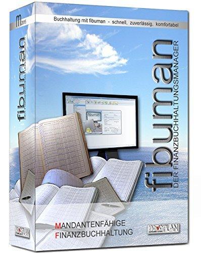 fibuman m  Jahresversion 2020, Buchhaltungssoftware, Mandantenfähige Finanzbuchhaltung mit Bilanzierung und Einnahme-Überschuss-Rechnung (EÜR). Neueste Version für Windows