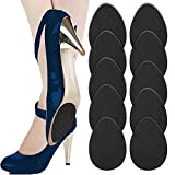 No Slip Shoes Pads (Black 5pairs) Self-Adhesive Shoe Grips Rubber Anti-Slip Shoe Grips Sole Stick Protector (Black 5pairs)