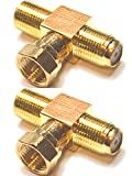 Best Coax Splitters - CESS F-Type TV Connector Male to 2 Female Review
