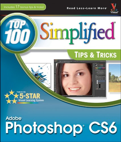 Price comparison product image Adobe Photoshop CS6 Top 100 Simplified Tips and Tricks