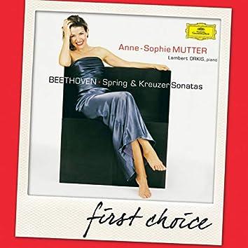 "Beethoven: Violin Sonatas ""Spring"" & ""Kreutzer"""