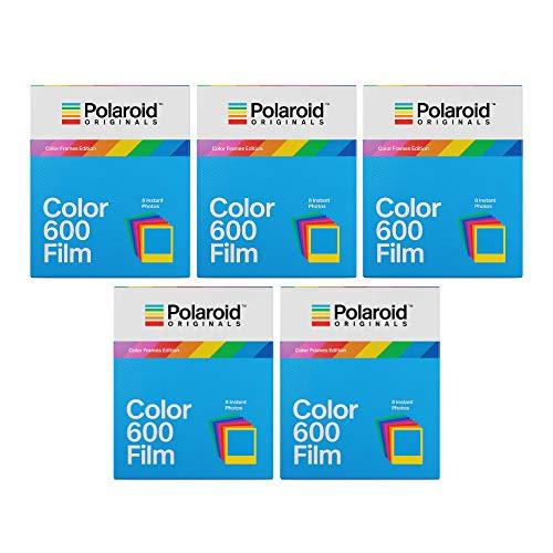 Polaroid Originals Color Frames Edition Instant Film for 600 Cameras Bundle (40 Exposures) (3216573518)