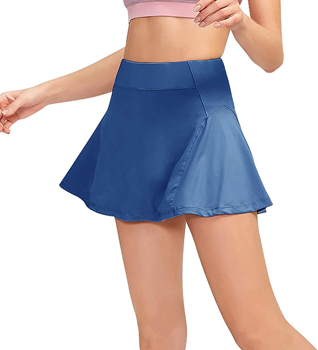 TOPMELON Ranking TOP4 Women's Tennis Skort Quick W Skirt Yoga Beauty products Dry Ruffle