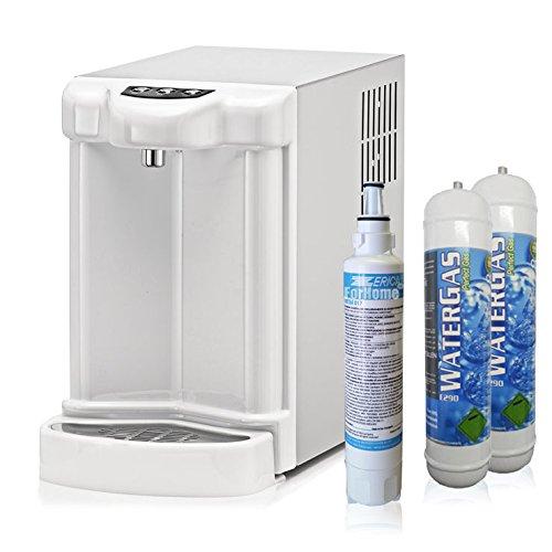 Depuratore Acqua ForHome Erogatore Fredda Gasata Ambiente Refrigeratore Gasatore Con 2X600Gr Co2