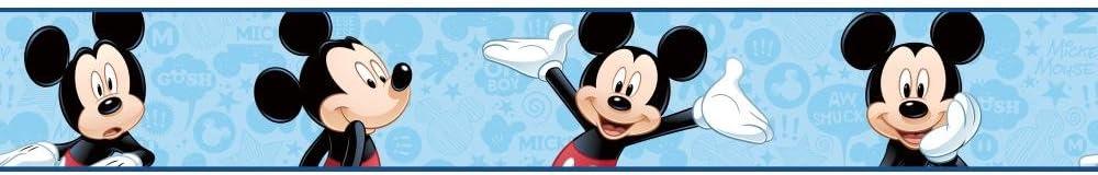 Ranking TOP17 York Wallcoverings DS7799BD Walt Disney L II Mickey Kids Border Excellent