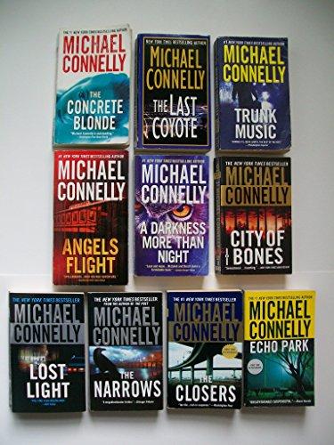 Michael Connelly: Harry Bosch #3-12 (Set of 10) Concrete Blonde; -to- Echo Park