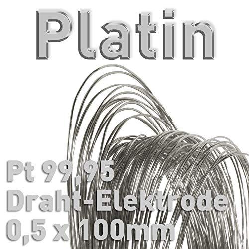 ASTA DI RAME DI anodo//elettrodo per Rame elettrolitico//galvanik 10 cm campione di materiale Cu 99,9 8 X 100 mm