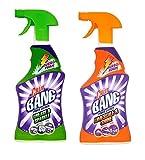 Paquete de múltiples Cillit Bang limpiador de cal y brillo 750 ml y limpiador de la grasa y la chispa 750 ml (artículo de zafiro modas Ltd)