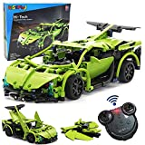 WisePlay Build Your Own RC Car Kit, Remote Control Car for Boys 8-12, 453pc Stem Building Sets for Boys 8-12, Best Birthday Toy Gift for 8, 9, 10, 11, and 12 Year Old Boys