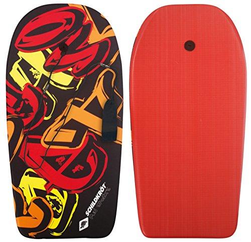 Schildkröt Schwimmbrett Bodyboard L, mit Nylonüberzug und EPS Schaumstoff-Kern, 93 x 46 cm, max. Belastung: 75 kg, 970215