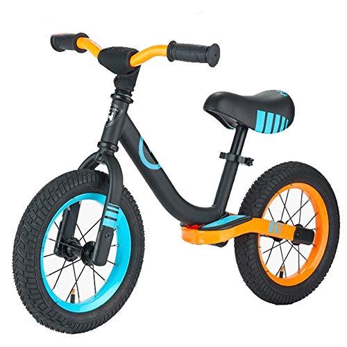 XHJZ-W Balance Bike - Kleinkind Training Bike für 3-6 Jahre Alten Kinder - Ultra Cool Colours Push-Bikes für Kleinkinder/No Pedal-Roller-Fahrrad mit Fußstützen