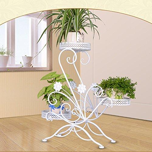 Blumenständer Metall Pflanzenregal Pflanzenständer