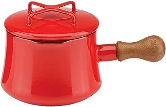DANSK Red Kobenstyle Chili 1 Qt. Saucepan, 2.35 LB