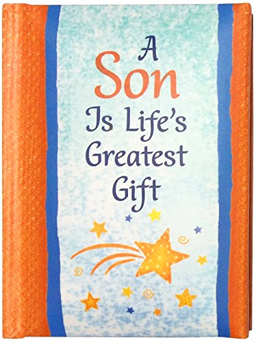 """Blue Mountain Arts Little Keepsake Book""""A Son Is Life's Greatest Gift"""" 4 x 3 in. Sentimental Pocket-Sized Gift Book from Mom or Dad for Birthday, Graduation, Christmas, or Just to Say """"I Love You"""""""