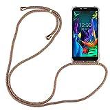 betterfon | LG K20 2019 Handykette Smartphone Halskette Hülle mit Band - Schnur mit Hülle zum umhängen Handyhülle mit Kordel zum Umhängen für LG K20 2019 Rainbow