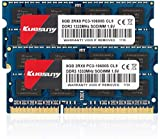 Kuesuny Compatible with Apple 16GB Kit (2x8GB) DDR3 1333MHz PC3-10600 SODIMM Memory Upgrade For MacBook Pro,iMac,Mac Mini (2x8GB)