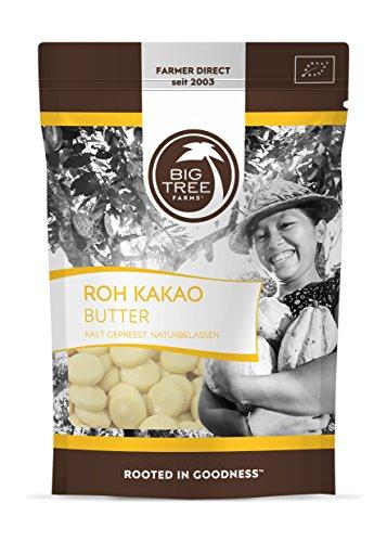 Big Tree Farms - Roh Kakao Butter-Drops - 100 g