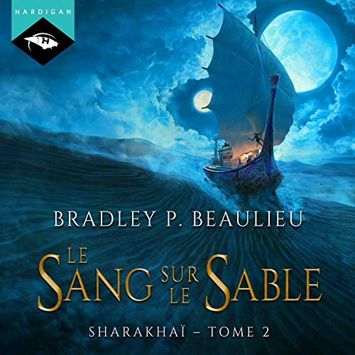 Le sang sur le sable audiobook cover art