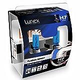 LUNEX H7 PLASMA XENON, Lampadine alogene Faro, 12V 55W PX26d, 5000K duobox (2 units)