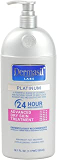 Advanced Face Moisturizing Body Lotion | Dry Skin Body Lotion & Face Protection for Soothing & Softens | Dermasil Labs Dermatologists Recommended Treatment Pump Cap Bottle | Pack of 1