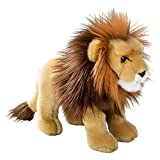 Wildlife Tree Standing 12 Inch Stuffed Lion Plush Floppy Animal Kingdom Collection