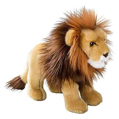 Wildlife Tree Standing 12 Inch Stuffed Lion Plush Floppy Animal Kingdom Collection