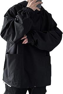 [ナラダ] プルオーバーパーカー お洒落 カジュアル トップス フード付き アウトドア ストリート ファッション 春 メンズ