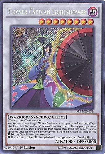 Yu-Gi-Oh! - Flower Cardian Lightshower (DRL3-EN039) - Dragons of Legend: Unleashed - 1st Edition - Secret Rare by Yu-Gi-Oh!
