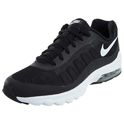 Nike Herren Air Max Invigor Laufschuhe, Schwarz (Black/White 010), 45 EU