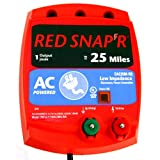 Red Snap'r ESP2M-RS 2-Mile Solar Fence Charger by RED SNAP'R
