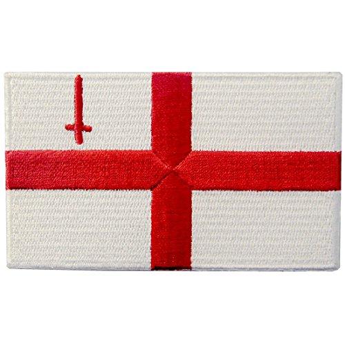 Bandiera della città di Londra Termoadesiva Cucibile Ricamata Toppa