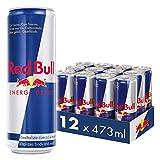Red Bull Bebida Energética, Regular - 12 latas de 473 ml. - Total 5676 ml.