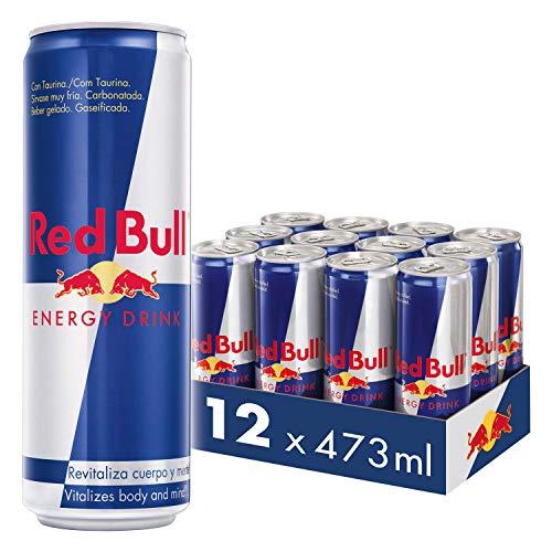 Red Bull Bebida Energética, Regular - 12 latas de 473