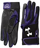Under Armour Radar III Softball Guantes de bateo para Mujer - 1265941, XL, Púrpura (500)/Blanco
